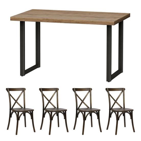Обеденные группы для дома: как выбрать идеальные столы и стулья?