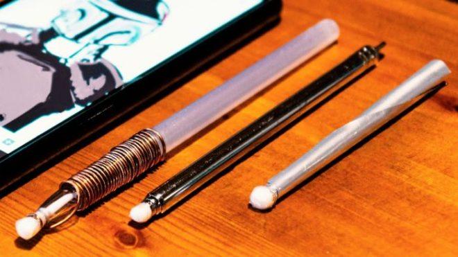 Делаем ручку для телефона