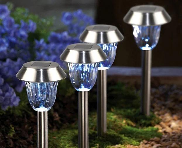 Как сделать садовый светильник на солнечных батареях своими руками
