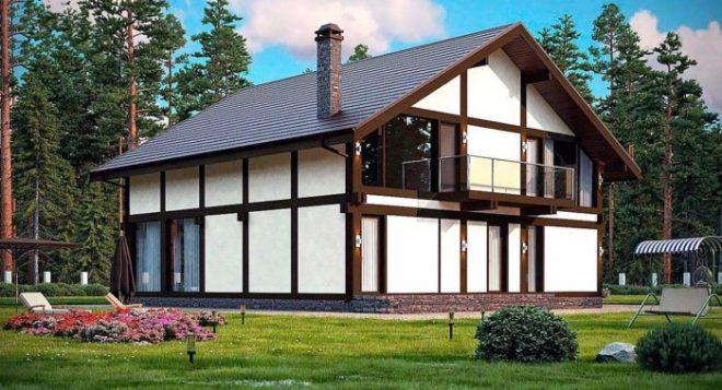 Плюсы и минусы домов в стиле фахверк