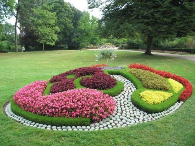 двухсторонний смотреть фото красивых цветников и садов что скором