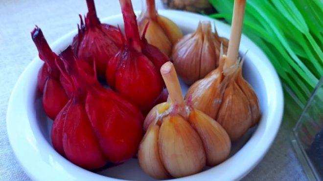 5 лучших рецептов маринованного чеснока на зиму