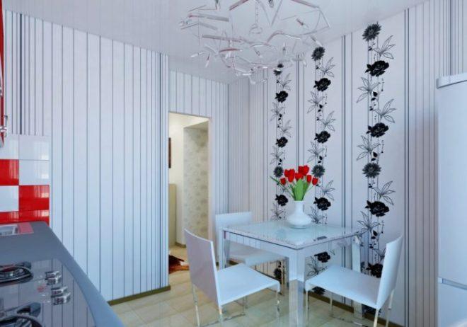 Современные бюджетные идеи отделки стен для кухни