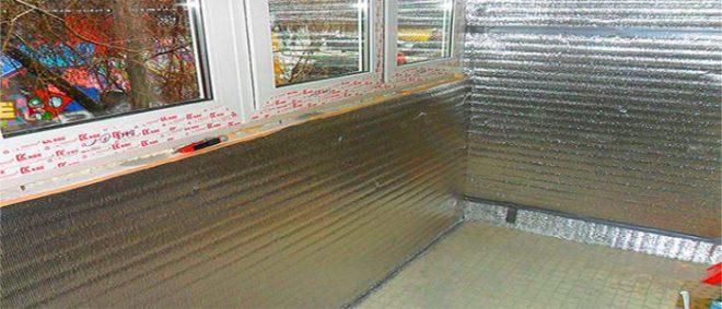 Каким материалом лучше утеплить балкон изнутри