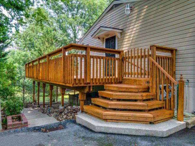 большой выбор какое построить крылечко к деревянному дому фото берет