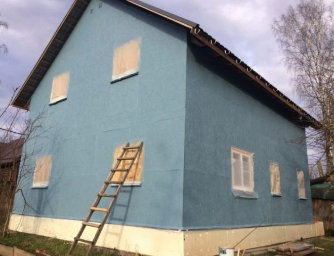 Чем покрасить ОСБ плиту на фасаде