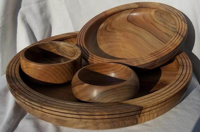 Как правильно мыть деревянную посуду