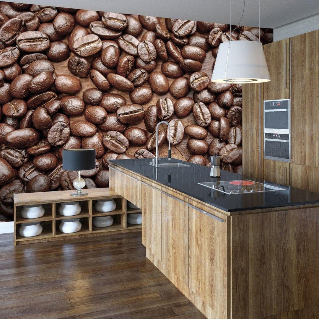 Фотообои для кухни в стиле минимализм.