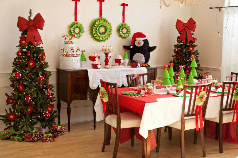 Как можно украсить квартиру на новый год, начиная с кухни.