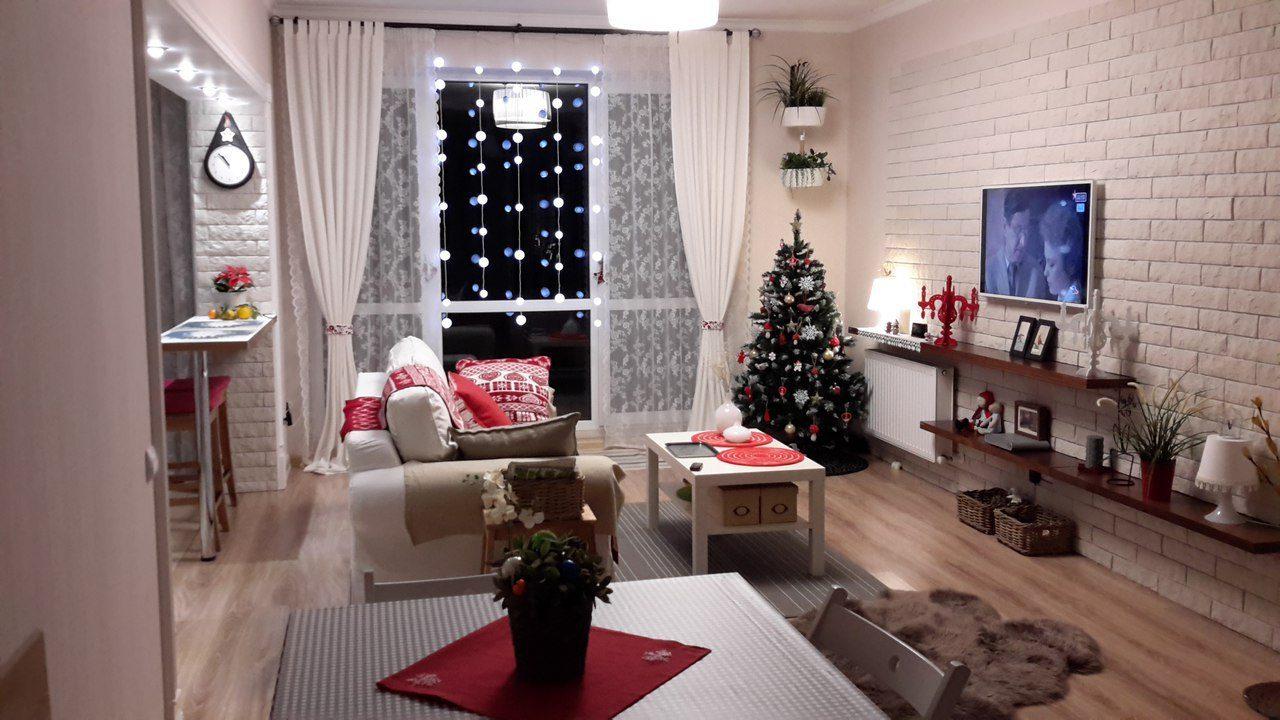 Как красиво украсить квартиру к новому году 2021 — Пошагово