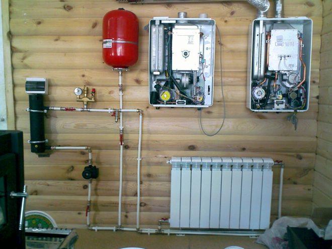 Как отапливать каркасный дом зимой без газа.