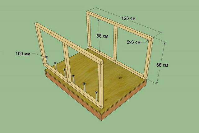 Создать схему будки для