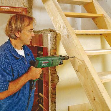 Изготовление деревянной лестницы своими руками видео