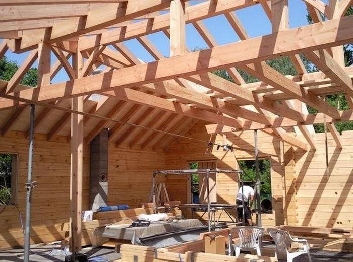 Как я построил деревянный дом своими руками