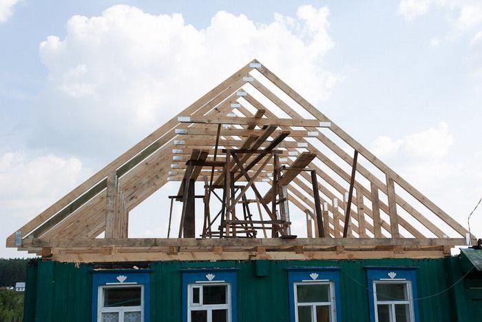 Строительства крыши дома своими руками