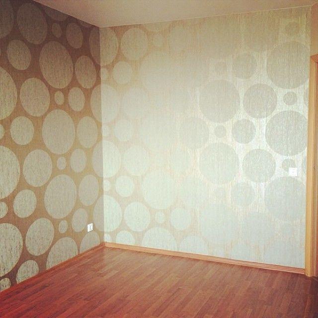 Фото комнат оклеенных обоями