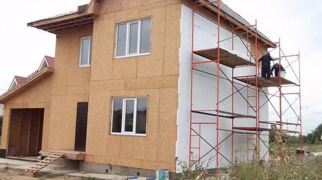 каркасный дом из осб своими руками пошаговая инструкция - фото 3