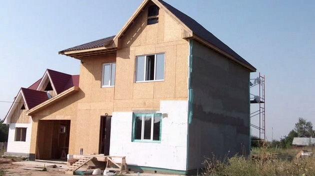 каркасный дом из осб своими руками пошаговая инструкция - фото 5