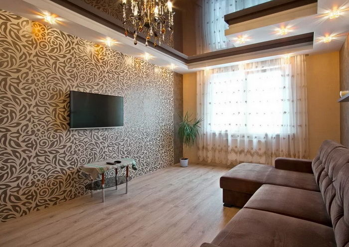 Какие цвета сочетаются с коричневым цветом в интерьере спальни