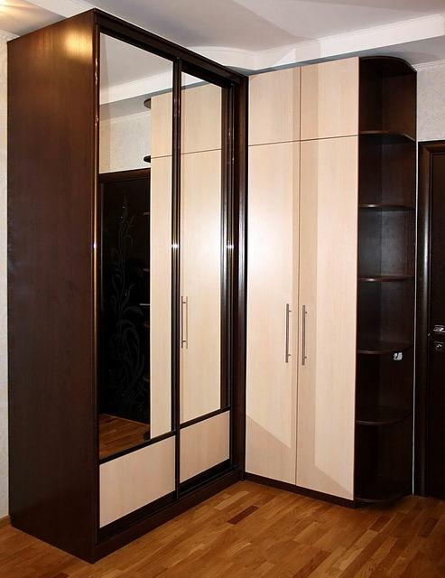 Как устроен шкаф-купеСовременные. шкафы-купе являются удобным элементом хранения, кроме того они