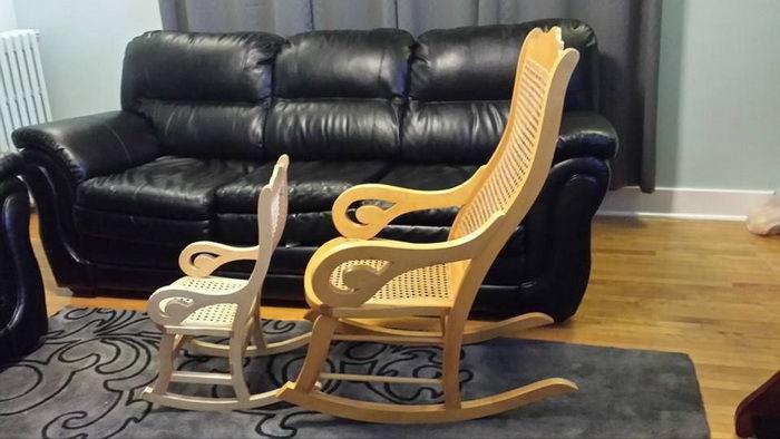 Ремонт своими руками кресла качалки
