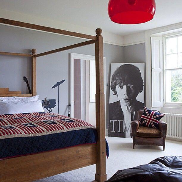 Grand mural rétro style salon canapé chambre papier peint