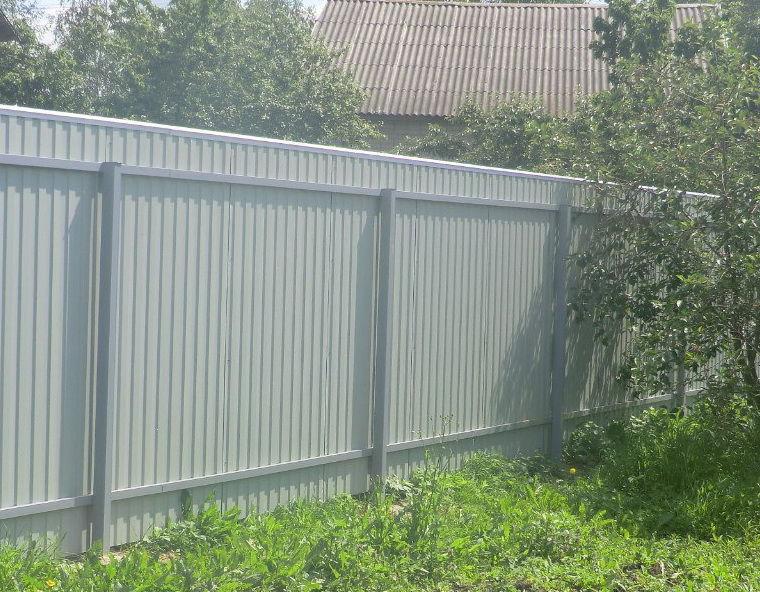 Железный забор своими руками 501