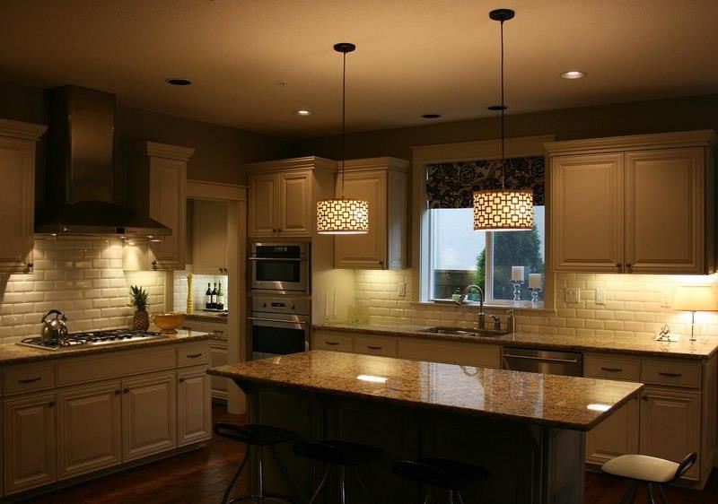 Kitchen dining room lighting