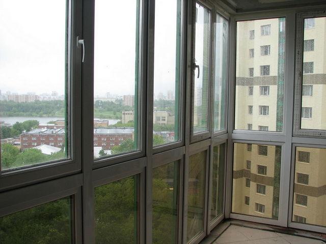 Панорамное остекление балкона: фото, видео