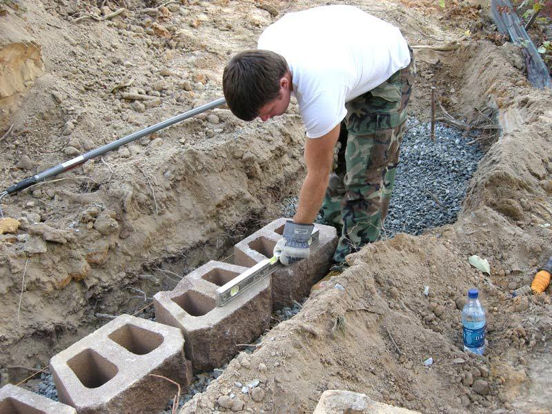 Подпорная стенка из бетона своими руками 36