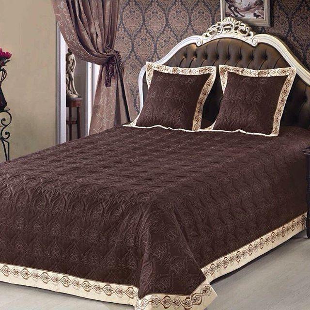 Покрывало кровать фото