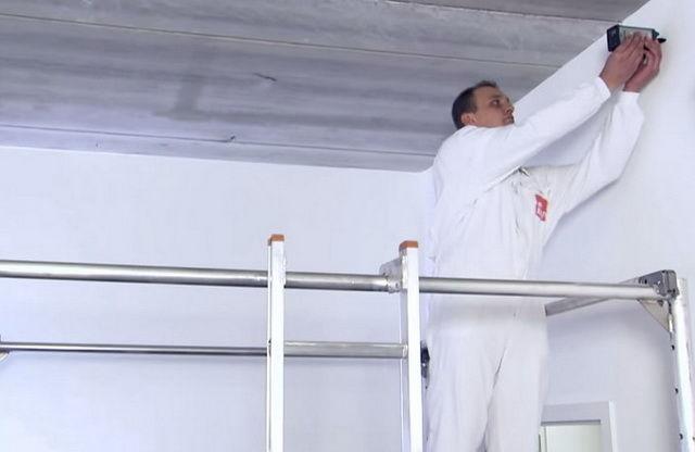 Как своими руками установить потолок армстронг