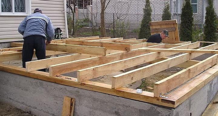 Как построить каркасный пристрой к деревянному дому