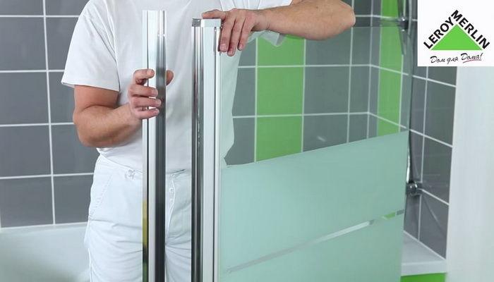 Как сделать ширму для ванны своими руками
