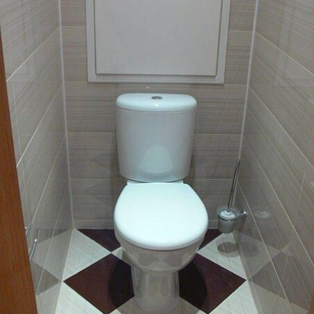 Ремонт в туалете пластиковыми панелями своими руками