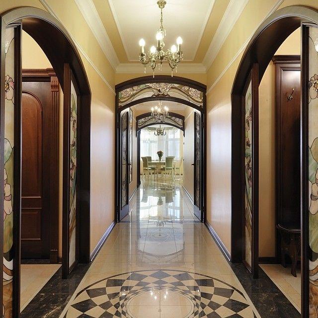 Ремонт в длинном коридоре: 10 фото
