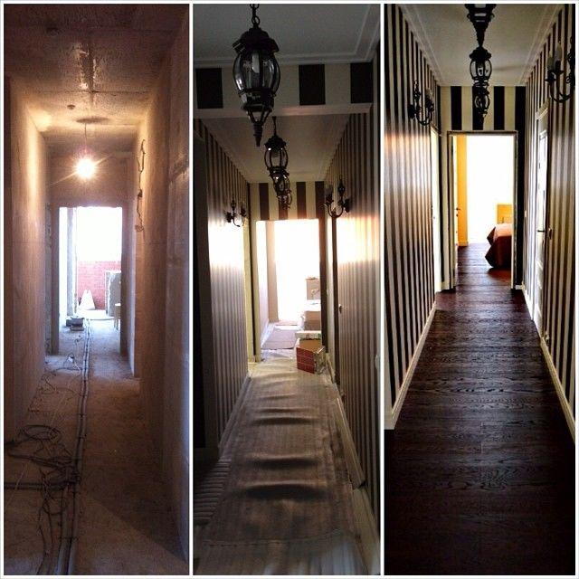 Ремонт в длинном коридоре