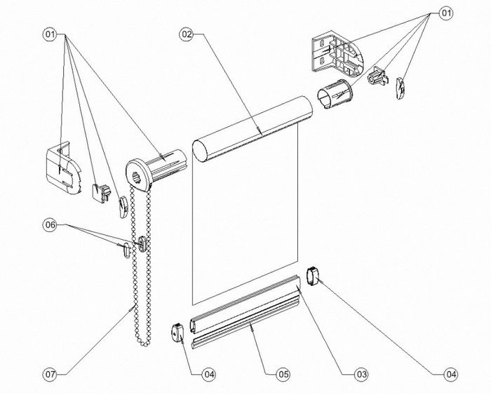 Рулонный механизм для штор своими руками