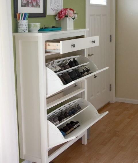 Шкафчики для обуви  фото