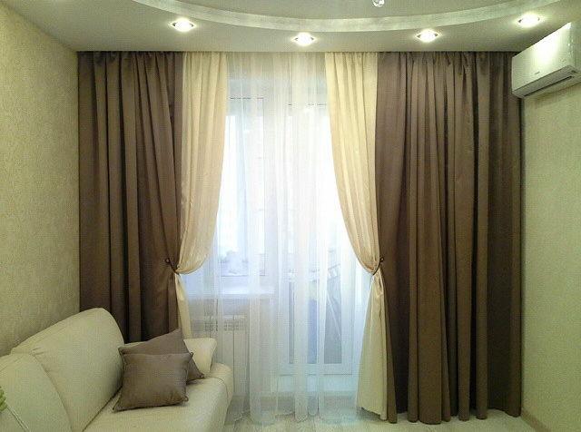 Дизайн штор хай тек фото