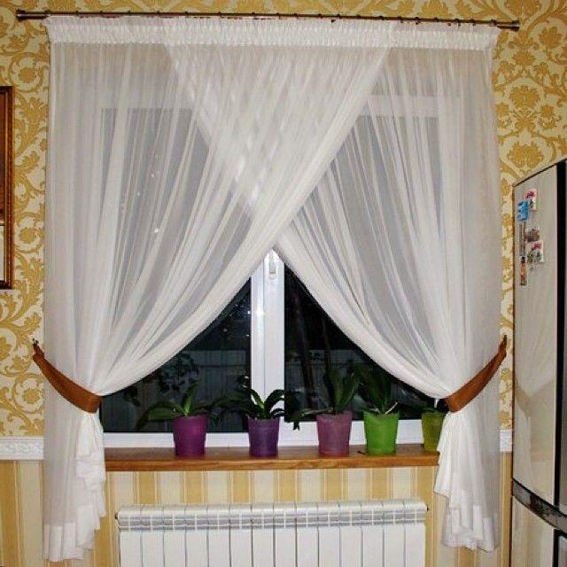 Шторы на половину окна