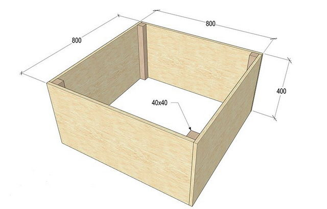 Циркулярный стол своими руками чертеж 800