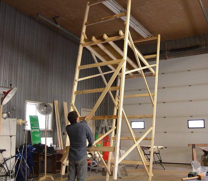 Как сделать леса строительные фото 235