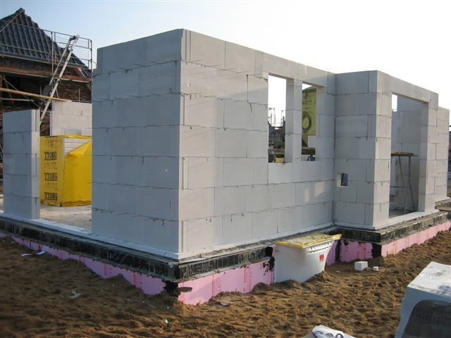 Сколько стоит построит дом из пеноблока своими руками 159