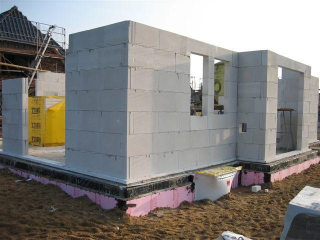 Строим дом пенобетона своими руками