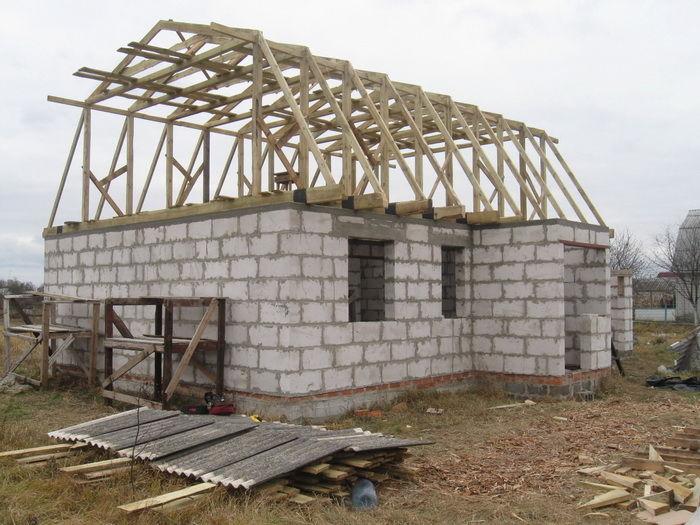 Строим крышу на дачи