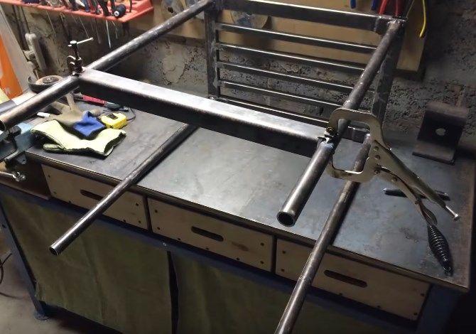 Как сделать стол для сварщика