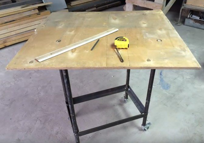 Сварочный стол своими руками: фото, чертежи, видео