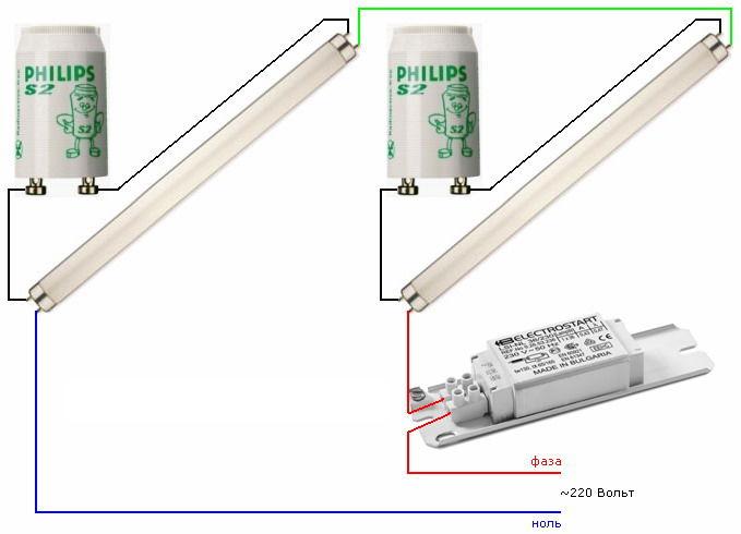 Диммер для люминесцентных ламп своими руками 34