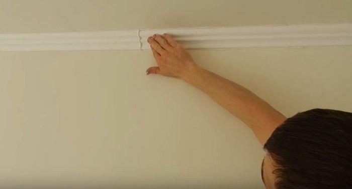 Монтаж потолочного плинтуса своими руками 182